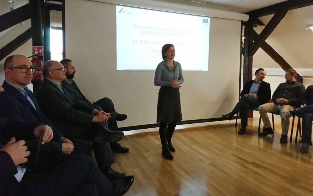 """Održana radionica za poduzetnike """"Metalska jezgra – nove prilike za poduzetnike"""""""