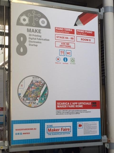"""Sudjelovanje na sajmu """"Maker Faire Rome"""""""