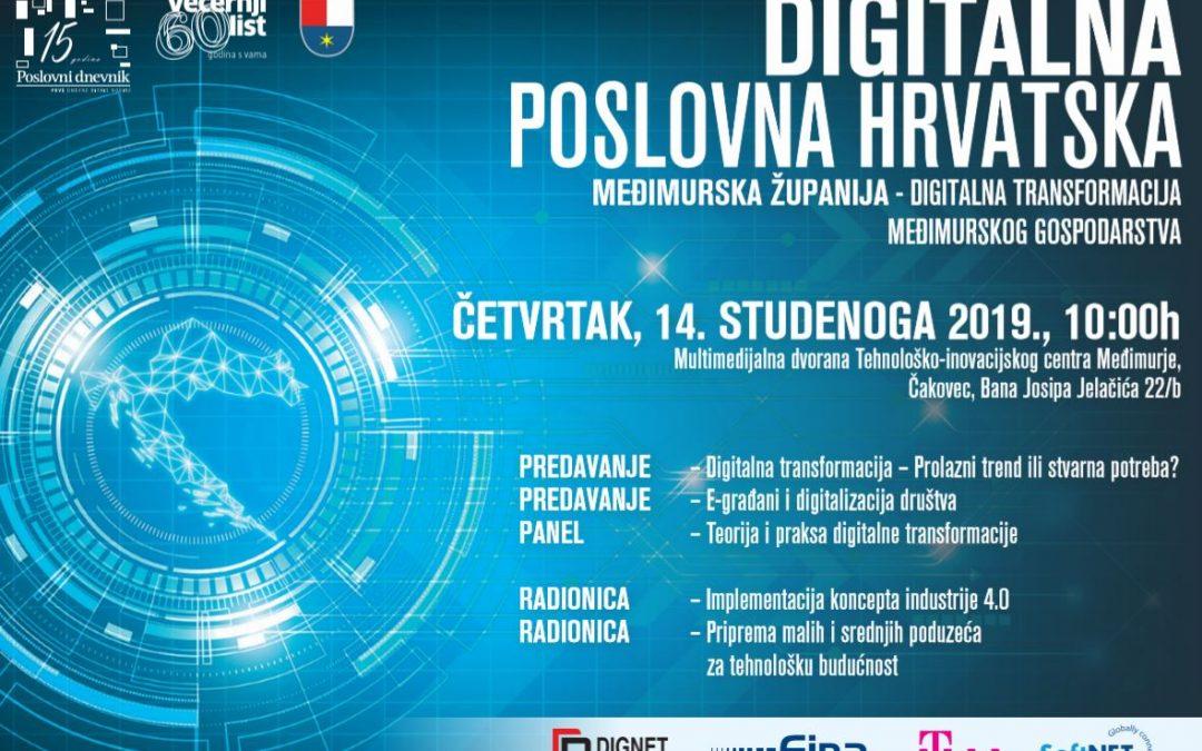 """Poziv """"Digitalna poslovna Hrvatska"""" Čakovec"""