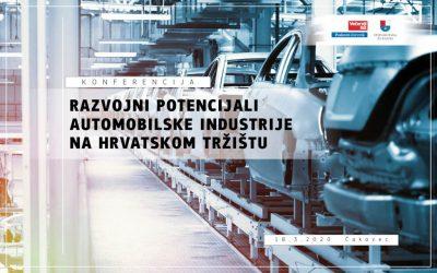"""Konferencija """"Razvojni potencijali automobilske industrije na hrvatskom tržištu"""""""