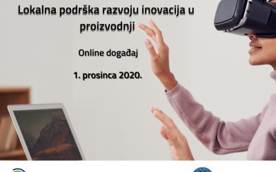 Transfer tehnologija i trostruka uzvojnica – lokalna podrška razvoju inovacija u proizvodnji